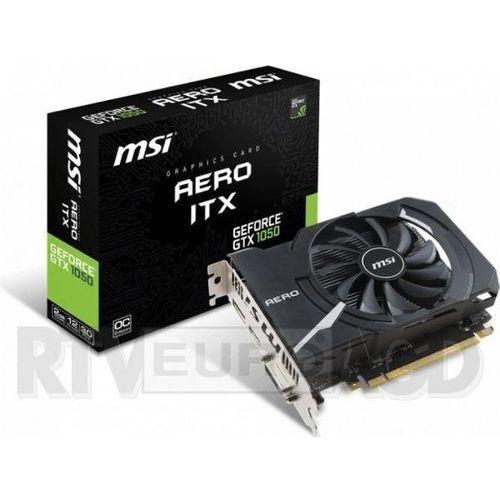 MSI GeForce GTX 1050 Aero ITX 2GB OCV1 GDDR5 128 Bit