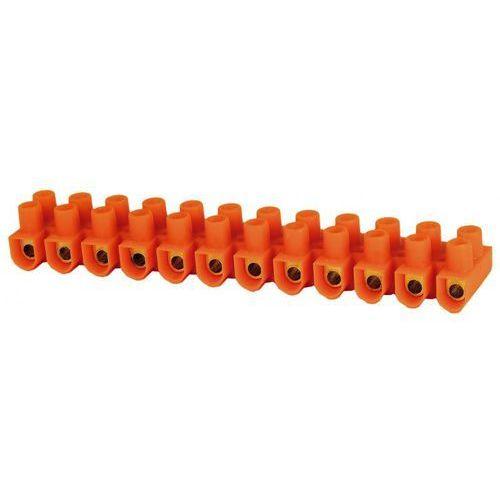 Simet Listwa zaciskowa gwintowa termoplastyczna ltf 12x4 mm2 pomarańczowa 21310108 (5907813217234)