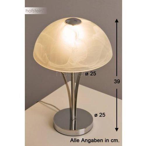 Honsel Brava lampa stołowa Nikiel matowy, 1-punktowy - OKAZJE