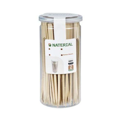 Naterial Patyczki bambusowe 110 szt. dł. 7 cm (3276000422761)