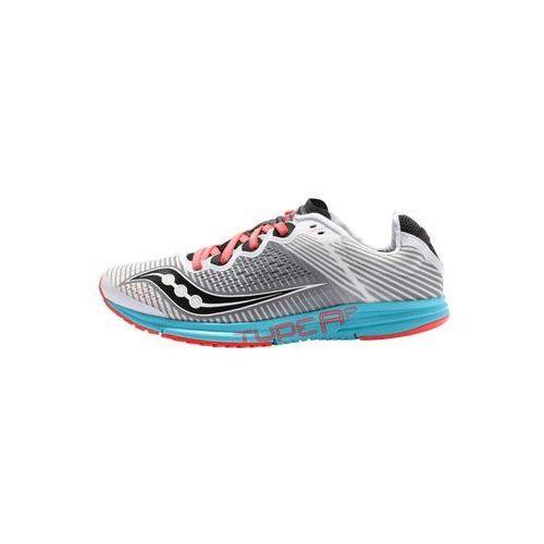 Saucony TYPE A Obuwie do biegania startowe white/red/blue, S19044