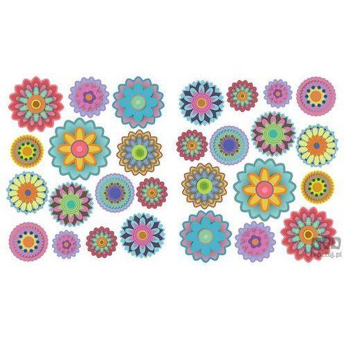 Naklejka Kolorowe Kwiatki SNC14WD, SNC14WD