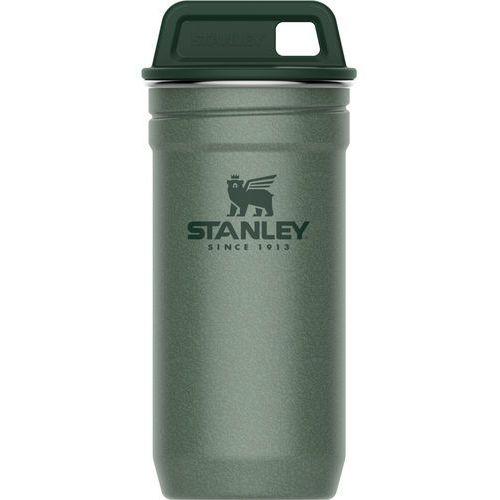 Stalowe kieliszki 4x60ml w zielonym etui Stanley Adventure (10-01705-039) (6939236348942)