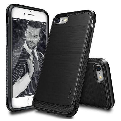 onyx iphone 7 4,7'' - black marki Rearth ringke