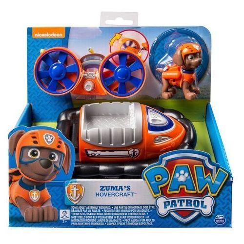 Psi patrol pojazdy z figurkami zuma - darmowa dostawa od 199 zł!!! marki Spin master