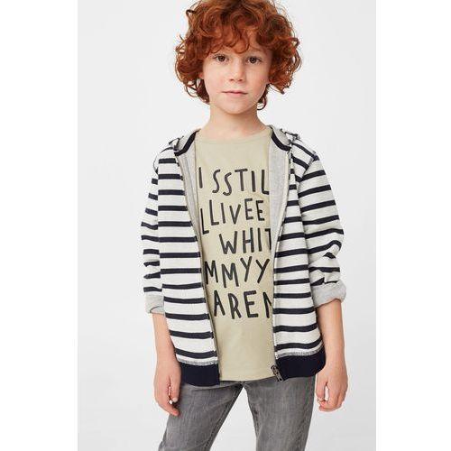 Mango Kids - Bluza Zipphood dziecięca 104-164 cm, kup u jednego z partnerów