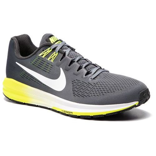 Buty NIKE - Air Zoom Structure 21 904695 007 Cool Grey/ White/Anthracite, kolor szary