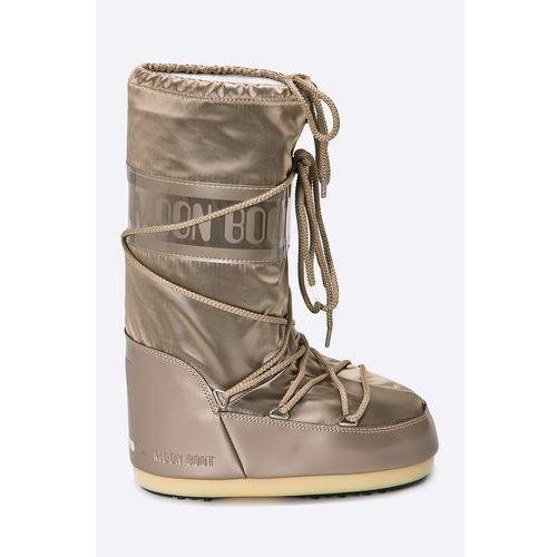 Moon Boot - Śniegowce Glance Platinum