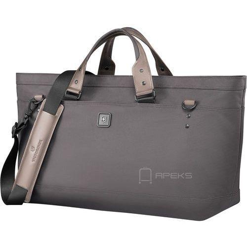 lexicon 2.0 weekender podręczna torba podróżna - grey marki Victorinox