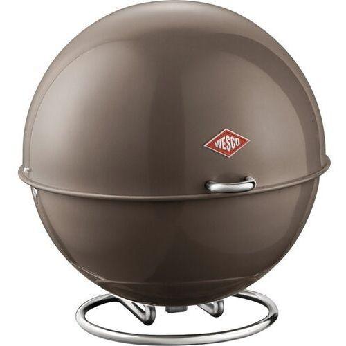 Wesco - pojemnik na pieczywo superball - szary - szary
