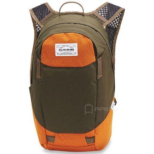 """Dakine canyon 16l plecak miejski na laptopa 15"""" / zielono - pomarańczowy - timber"""