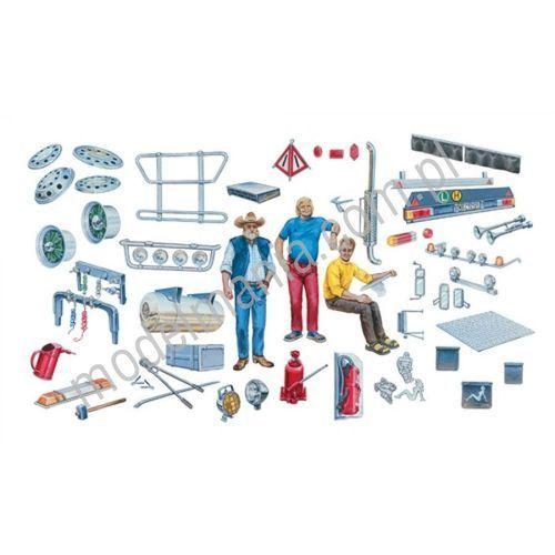 Italeri - Zestaw akcesoriów (Truck Accessories) - Italeri, MI-720 (153901)