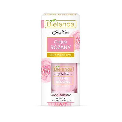 olejek różany nawilżający cera wrażliwa - olejek różany marki Bielenda