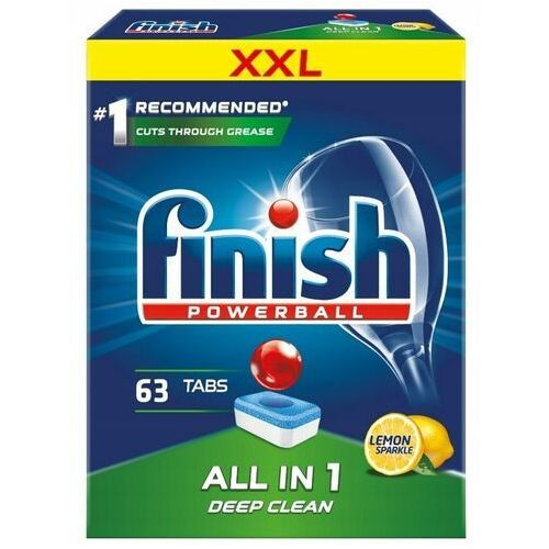 Tabletki do zmywarki FINISH Tabletki All-in-1 Max 63 cytrynowe, 15900627090199