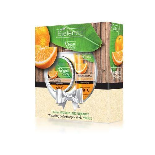 Bielenda zestaw prezentowy vegan friendly pomarańcza (masło do ciała 250ml+peeling do ciała 200g) (5902169026806)