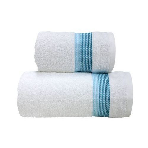 Ręcznik bawełniany Greno Ombre Biały Aqua, THK-065577