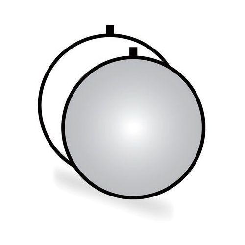 F&v Blenda okrągła 2w1, biało-srebrna, 80cm
