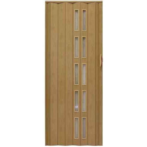 Drzwi harmonijkowe 005s 47 g buk mat g 80 cm marki Gockowiak