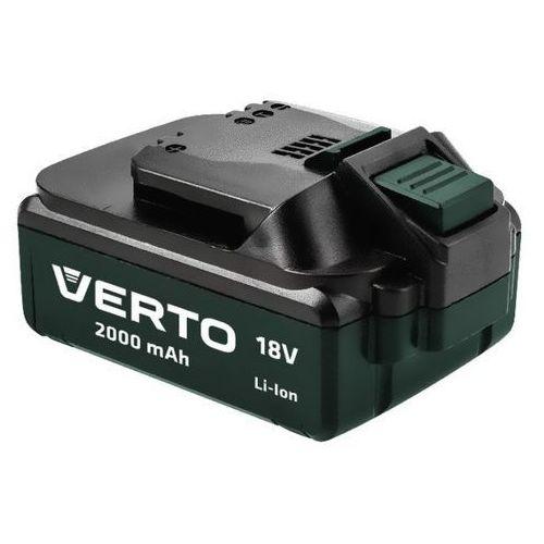 Verto k75657-0 li-ion 18 v / 2,0 ah (5902062035073)