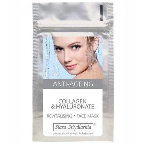 Stara mydlarnia Collagen & hyaluronate - maska z kwasem hialuronowym i kolagenem morskim 25 g