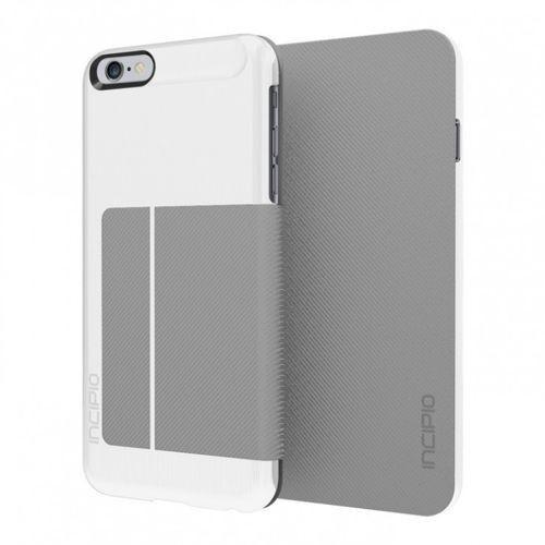 Etui z klapką Incipio Highland Folio Case - biało-szare - iPhone 6 Plus, kup u jednego z partnerów
