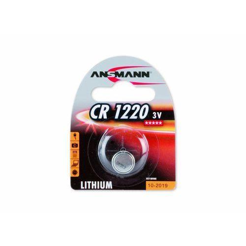 Ansmann Bateria CR-1220 LI/3.0V (5020062) Darmowy odbiór w 21 miastach! (4013674020065)