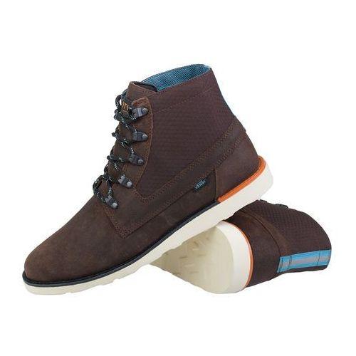 Vans Breton Brown QE2A25 - brązowy (0648335691625)