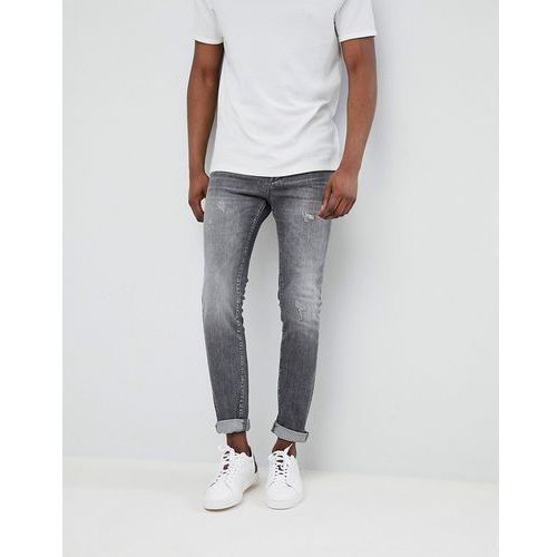 Selected Homme Jeans In Skinny Fit - Grey, jeans