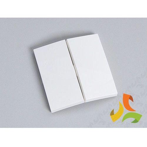 Klawisze podwójne, biały FIORENA (5901241221405)