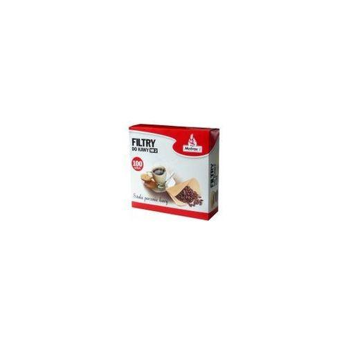 Metrox Wyposażenie filtr do kawy 1x2/100 (5908230160127)