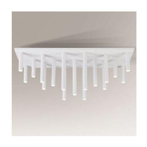 Downlight lampa sufitowa yabu 7171 metalowa oprawa sople plafon tuby białe marki Shilo