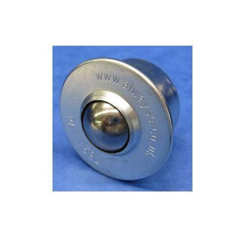 Standardowa rolka kulowa, z kulką ze stali, Ø kulki 45 mm, nośność użytkowa kulk