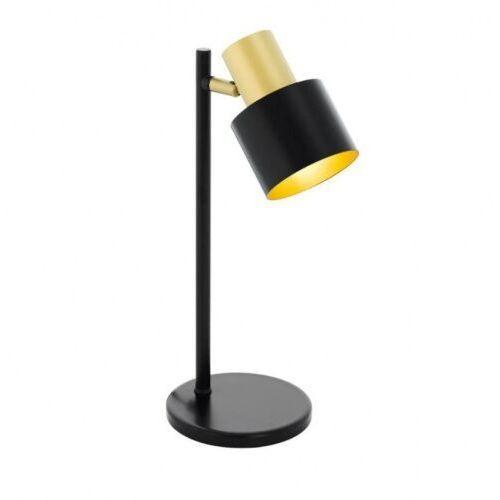 39387 FIUMARA oprawa stołowa stal czarny, złoty BIURKOWA EGLO (9002759393878)