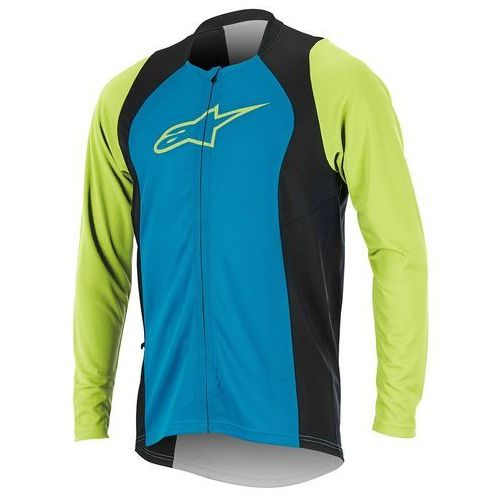 Koszulka drop 2 full zip bright blue-green 1766817-7060 marki Alpinestars