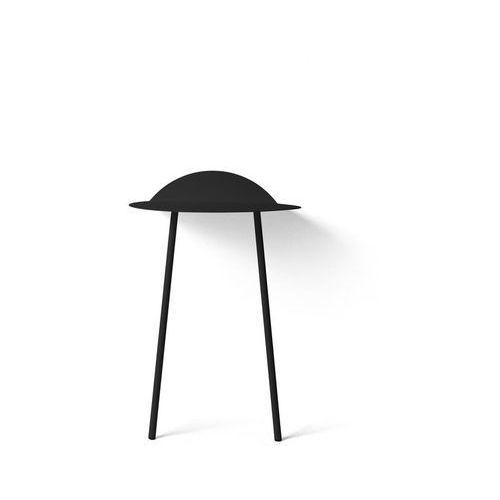 Stolik ścienny Yeh, wysoki, czarny - Menu, 8700539