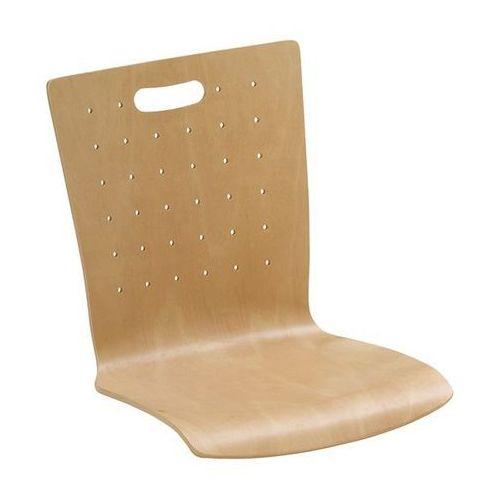 Friwa sitzmöbel Krzesło z siedziskiem z drewna, opak. 2 szt., buk naturalny, szczelina uchwytowa
