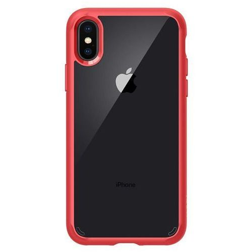 Spigen sgp ultra hybrid red | obudowa ochronna dedykowana dla modelu apple iphone x / 10 marki Sgp - spigen