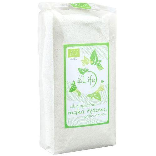 BIOLIFE 500g Mąka ryżowa pełnoziarnista Bio | DARMOWA DOSTAWA OD 200 ZŁ, kup u jednego z partnerów