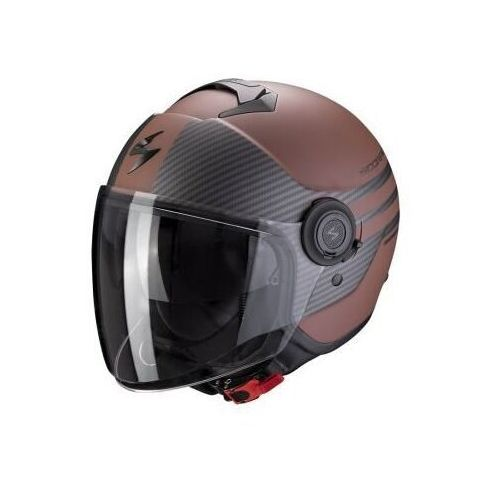 kask otwarty exo-city moda brown matt bl marki Scorpion