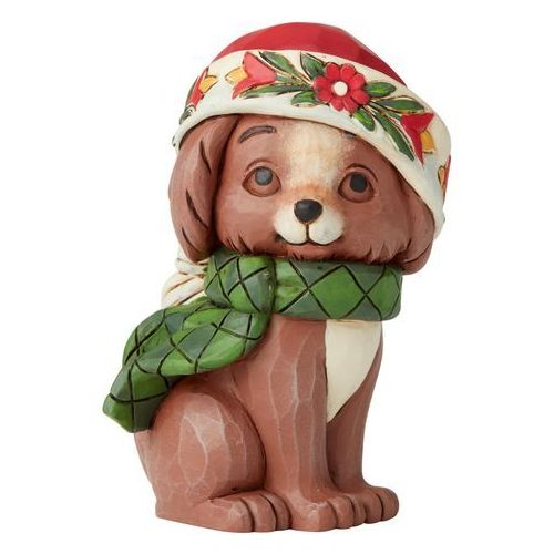 Świąteczny piesek Christmas Kitten Mini Figurine 6004296 Jim Shore figurka ozdoba świąteczna