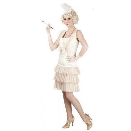 Sukienka lata 20-te charleston lady - 40/42 - stroje dla dorosłych, Aster