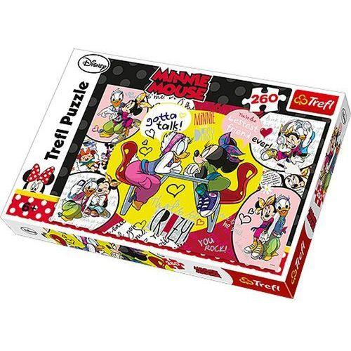 Puzzle 260 Minnie Mouse Najlepsze Przyjaciółki