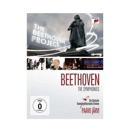 Beethoven: Symphonies Nos. 1-9 & Das Beethoven Projekt [Documentary] - Paavo Jarvi