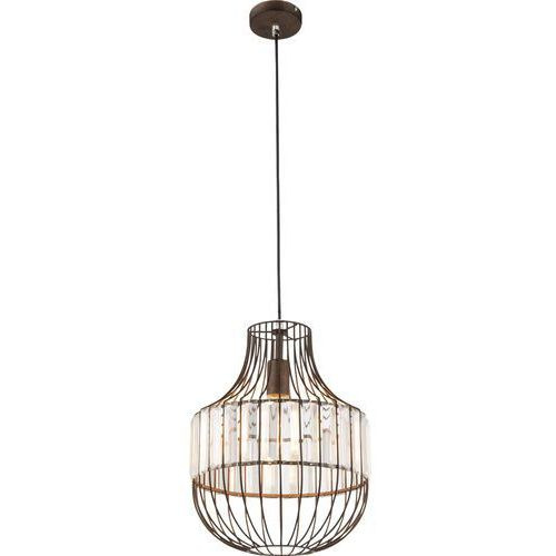 Lampa wisząca Globo Grace 15275 lampa sufitowa druciana zwis 1x60W E27 rdzawy