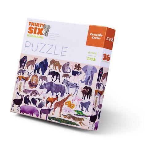 Puzzle Dzikie zwierzęta 300 (0732396406820)