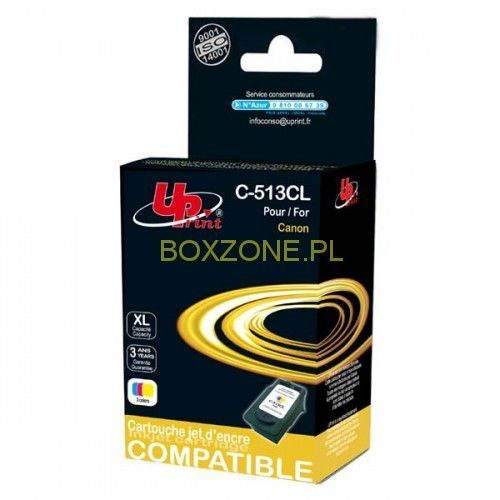 UPrint kompatybilny ink z CL513, color, 15ml, C-513CL, dla Canon MP240, MP260 (3584770880910)