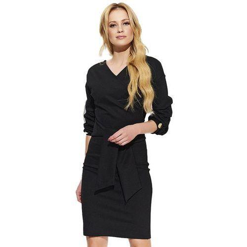 Makadamia sukienka damska 40 czarna (5902041666441)