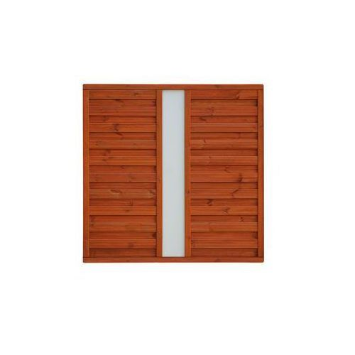 Płot szczelny 180x180 cm drewniany vitrum marki Werth-holz