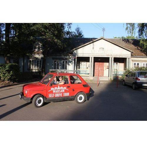 Prowadź i zwiedzaj - wycieczka po Warszawie Fiatem 126p - Warszawa nieodkryta - 3 osoby z kategorii Upominki