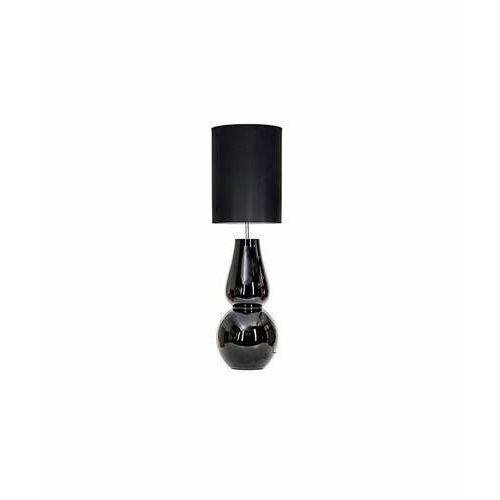 4 Concepts Milano Black L202081340 lampa stojąca podłogowa 1x60W E27 czarny